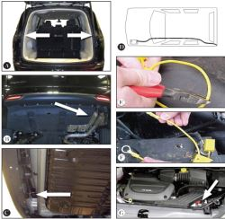 what gets removed to install trailer wiring harness for a 2017 chrysler  pacifica | etrailer.com  etrailer.com