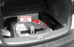 Location of Trailer Wiring Harness Plug on 2007 Acura RDX   etrailer.com   Acura Rdx Trailer Wiring Harness      etrailer.com