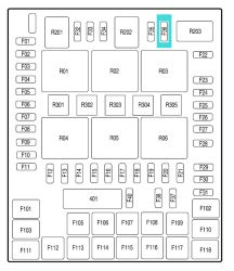 [GJFJ_338]  Location of Trailer Turn Signals and Power Distribution Box on a 2008 Ford  F-150 | etrailer.com | 2008 F150 Fuse Box Location |  | etrailer.com