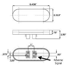 Led Trailer Tail Light Installation Instructions And Wiring Diagram Stl211rb Etrailer Com