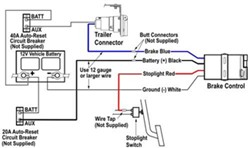How To Wire a Brake Controller with no Tow Package in a 05 Dodge Dakota    etrailer.cometrailer.com