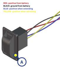 wire color diagram for replacement electric jack switch lc387874 |  etrailer.com  etrailer.com