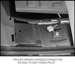 Where To Connect Hopkins Plug-N-Tow Wiring Harness # 43105 On A 2005 Honda  Pilot | etrailer.com | 2005 Honda Pilot Trailer Wiring |  | etrailer.com