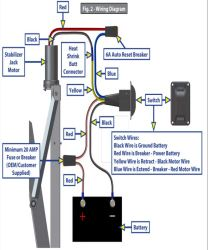 Installing Replacement Electric Jack Switch For Lippert High Speed Stabilizer Jacks Etrailer Com