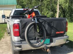 Truck Bed Bike Rack Recommendation For 2019 Toyota Tundra With Tonneau Cover Etrailer Com