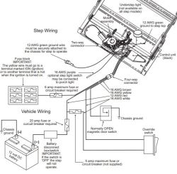 [SCHEMATICS_4US]  Wiring Diagram for Coach Step | etrailer.com | Kwikee Electric Step Wiring Diagram |  | etrailer.com