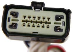 trailer wiring harness for 2015 ford explorer police interceptor utility |  etrailer.com  etrailer.com