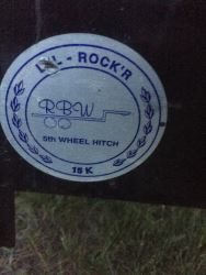 How To Use An Rbw Lil Rocker 15k 5th Wheel Hitch On A 2002 Ford F 250 Etrailer Com