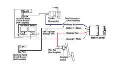 Wiring Diagram for Tekonsha PowerTrac Brake Controller | etrailer.cometrailer.com