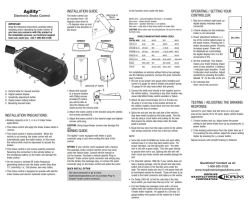 Owners Manual for the Hopkins Agility Trailer Brake Controller HM47295 |  etrailer.com | Agility Trailer Brake Controller Wiring Diagram |  | etrailer.com