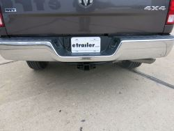 Dodge Ram 1500 CURT 14374 Class 4 Trailer Hitch Black 2-Inch Receiver for Select
