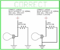 [SCHEMATICS_4JK]  Do LED Turn Signals Need Load Resistors When Installed on a Jeep Wrangler    etrailer.com   Led Resistor Wiring Diagram Turn Signal Bulb      etrailer.com