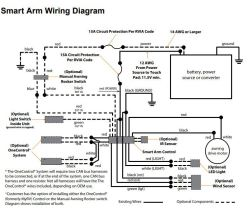 how to wire solera smart arm 12v power rv awning | etrailer.com rv 12v wiring diagram  etrailer.com