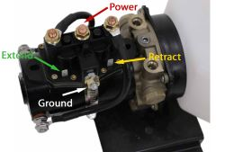 Wiring Diagram for Lippert Replacement Hydraulic Power Unit with 2-Quart  Pump Reservoir Kit | etrailer.com | Hydraulic Slide Wiring Diagram |  | etrailer.com