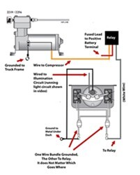 Wiring Diagram for Firestone Level Command II On-Board Compressor Kit for  Air Bag Suspensions | etrailer.com | Pouch Wiring Diagram |  | etrailer.com