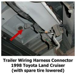 troubleshooting oem 4-pole trailer connector on 1998 toyota land cruiser |  etrailer.com  etrailer.com