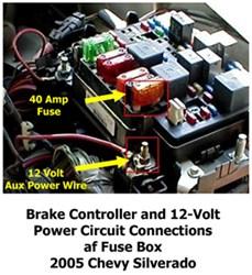 Activating 12-Volt Accessory Circuit to 7-Way on 2004 Chevy Silverado 2500  | etrailer.cometrailer.com