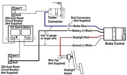 Brake Controller Wire Functions By Wire Color Etrailer Com