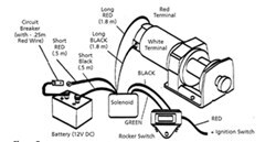 wiring diagram 2000 polaris scrambler 4x4 superwinch lt2000 winch wiring and installation on 2010 polaris  superwinch lt2000 winch wiring and