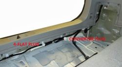 Where is the Underdash Connector to Install Curt Wiring Harness # C56217 in 2014  Toyota Highlander | etrailer.com | 2014 Toyota Highlander Trailer Wiring Harness |  | etrailer.com