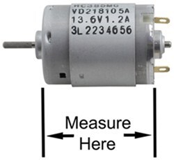 Is Fuse Required To Install Replacement Fan Motor For Ventline Rv Range Hood Bvd0218 00 R Etrailer Com