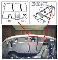 2015 lexus rx350 f sport receiver hitch and trailer wiring harness    etrailer.com  etrailer.com