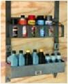 rackem trailer cargo organizers bottle and can racks hobby space landscaping recreation ra-10
