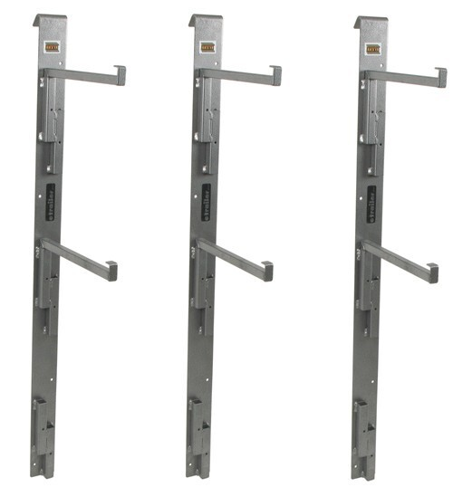 Rack'em Side Wall Adjustable Shelf Supports for Enclosed Cargo Trailers Shelf Supports RA-24