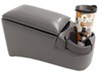 rampage car organizer console 16-1/2 inch long bench seat center - x 8-1/2 wide 9 tall charcoal