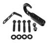Rampage Tow Hook Kit for Jeep - Black Powder Coated Steel Steel RA7605