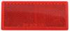 optronics trailer lights  3l x 1-1/2w inch reflector - adhesive backing rectangle red