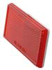 optronics trailer lights reflectors reflector - adhesive backing rectangle red