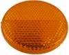 optronics trailer lights reflectors adhesive reflector for truck or - 2-3/16 inch round stick on amber qty 1