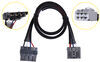 redarc accessories and parts trailer brake controller plugs into plug-and-play wiring harness for tow-pro controllers