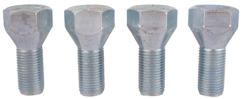 "Trailer Wheel Bolts - 1/2"" Diameter x 1"" Long - 60 Degree - Qty 4 Fine Thread RG02-020"