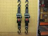 """Erickson Re-Tractable Ratchet Straps w/ Push Button Releases - 2"""" x 6' - 1,333 lbs - Qty 2 customer photo"""