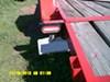 "Trailer Light Mounting Bracket for 6-1/2"" Oval Trailer Lights, Steel - Black Powder Coat customer photo"