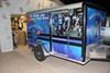 "Single Axle Jeep Style Trailer Fender - Diamond Plate Aluminum - 13"" to 15"" - Qty 1 customer photo"