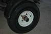 "Kenda 5.70-8 Bias Trailer Tire with 8"" White Wheel - 4 on 4 - Load Range C customer photo"