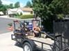 Pack'Em Rack for Open Utility Trailers - Holds 6 Shovels, 1 Blower, 1 Line Spool, 1 Round Cooler customer photo
