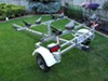 """Fulton Single Axle Trailer Fender with Top Step - White Plastic - 12"""" Wheels - Qty 1 customer photo"""
