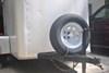"""Karrier ST205/75R15 Radial Trailer Tire with 15"""" White Spoke Wheel - 5 on 4-1/2 - Load Range C customer photo"""