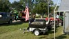 """Fulton Single Axle Trailer Fender with Top and Side Steps - Black Plastic - 12"""" Wheels - Qty 1 customer photo"""