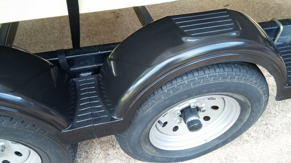 "Plastic Trailer Mudguard Mud Guard 12/"" 13/"" 14/"" wheel"