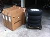"Loadstar ST205/75D14 Bias Trailer Tire with 14"" White Wheel - 5 on 4-1/2 - Load Range C customer photo"