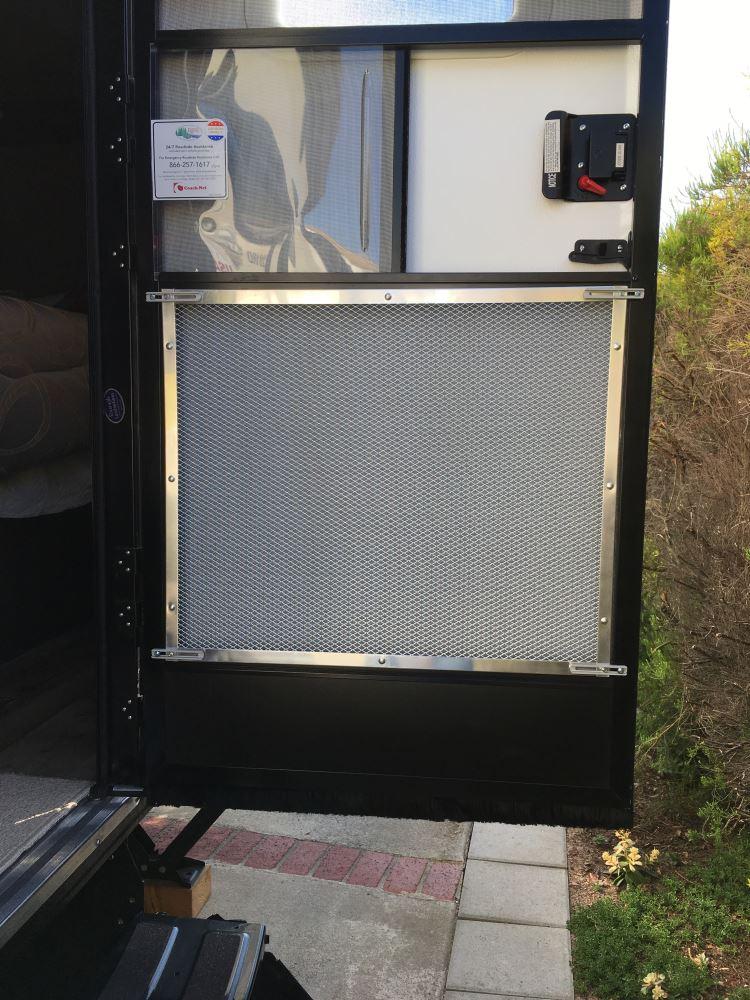 Camco Rv Adjustable Screen Door Standard Grille Aluminum Camco Rv Door Parts Cam43980