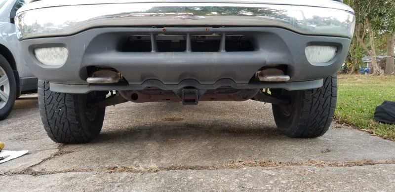 2001 Ford Expedition Curt Front Mount Trailer Hitch