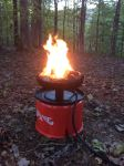 Camco Big Red Portable Gas Campfire W 10 Long Hose Camco Portable Grills And Fire Pits Cam58035