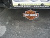 """Harley-Davidson Trailer Hitch Receiver Cover - 1-1/4"""" and 2"""" Hitches - Orange and White customer photo"""