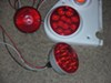 Miro-Flex LED Trailer Tail Light - Stop, Turn, Tail - Submersible - 12 Diodes - Round - Red Lens customer photo
